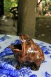 カエルの置物019