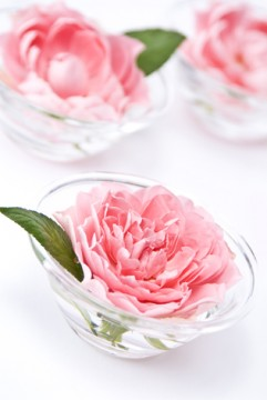 ガラスボウルのバラ2