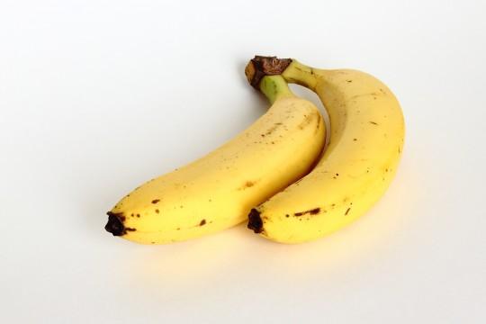 2本のバナナ