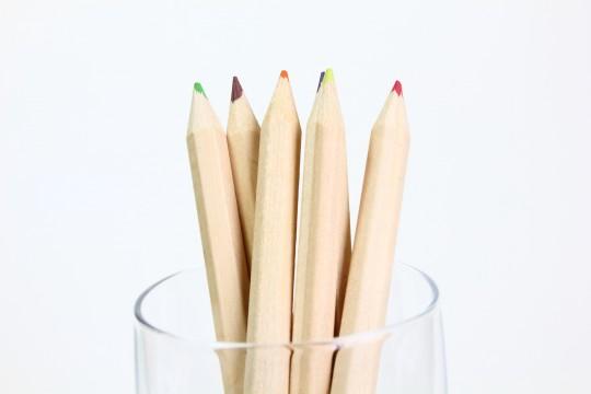 色鉛筆6色