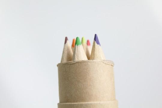 色鉛筆の先