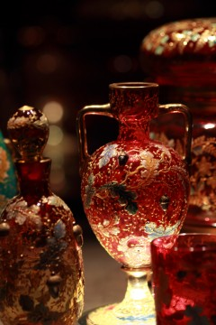 美しいガラス工芸品
