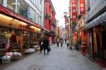 中華街の街並み