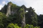 日向神峡の蹴洞岩