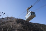 鶴見岳のロープウェイ
