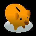 ブタの貯金箱2