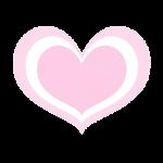 ピンクのハート2
