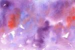 紫の水彩のテクスチャ2