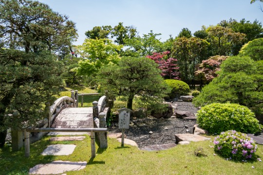 菊屋家住宅の庭園