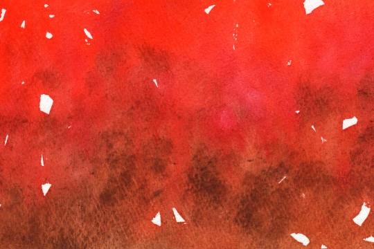 赤い水彩のテクスチャ2