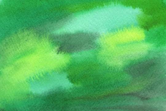 緑の水彩のテクスチャ3