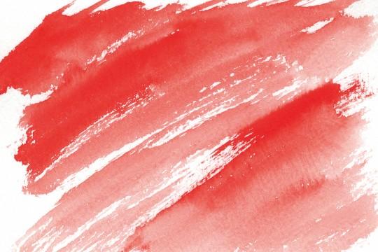 赤色の水彩のテクスチャ3