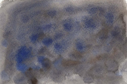 青と黒の水彩のテクスチャ