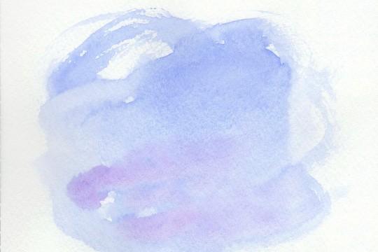 淡い紫色の水彩のテクスチャ