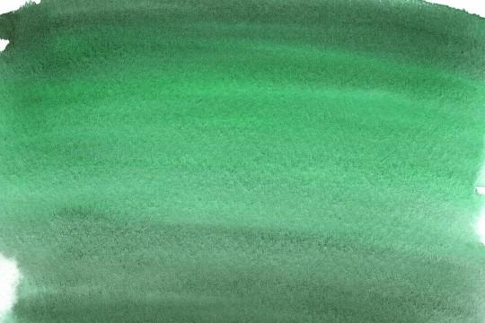 ダークグリーンの水彩のテクスチャ