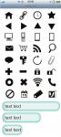 スマートフォンサイト ボタン/アイコンセット 6