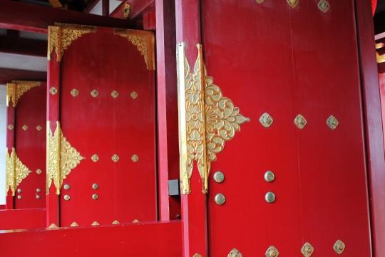 天満宮の門扉