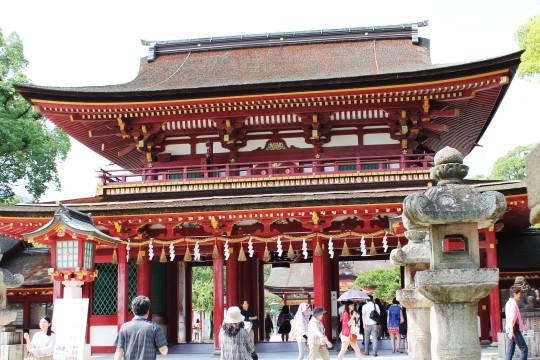 太宰府天満宮の門