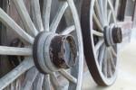 古びた車輪