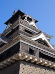 青空と熊本城