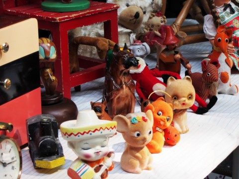 アンティークの人形たち