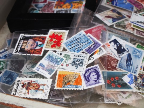 外国の使用済み切手