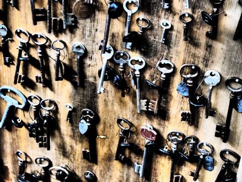 アンティークの鍵