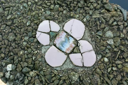 陶器の花弁