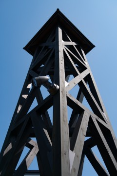 温泉舎の櫓