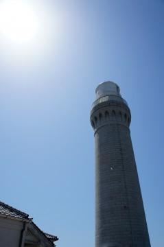 角島灯台公園の灯台