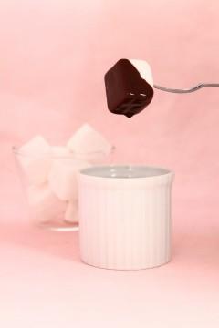 マシュマロとチョコレート