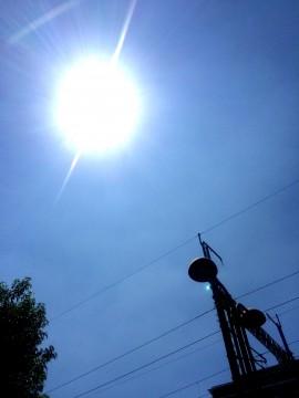 夏日の太陽