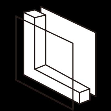 二重窓アイコン