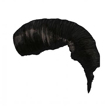 しっかりとキメた髪型