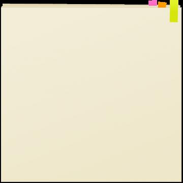 付箋つきノート