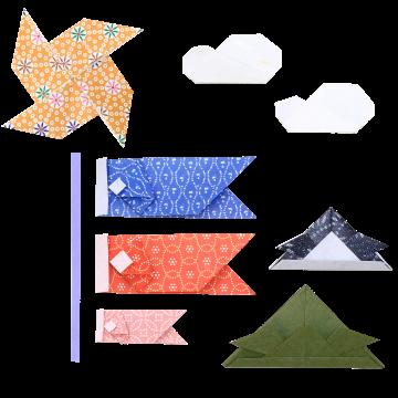 折り紙のこいのぼり