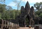 カンボジアのアンコール・トム