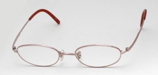 銀縁メガネ