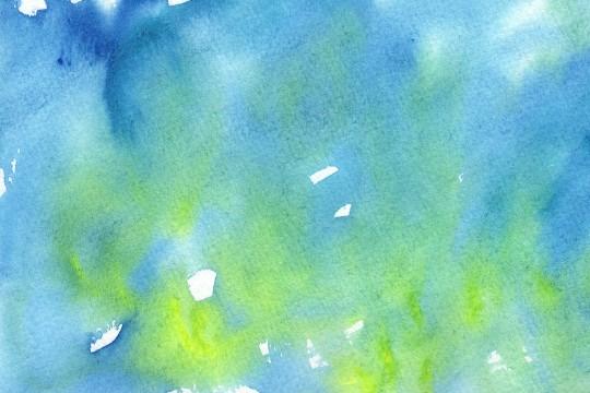 青い水彩のテクスチャ3