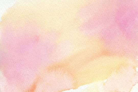桃色の水彩のテクスチャ