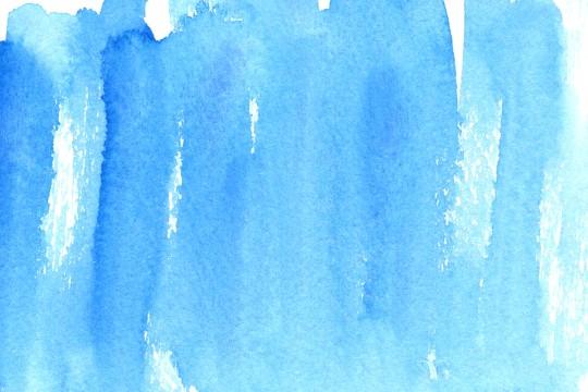 青い水彩のテクスチャ7