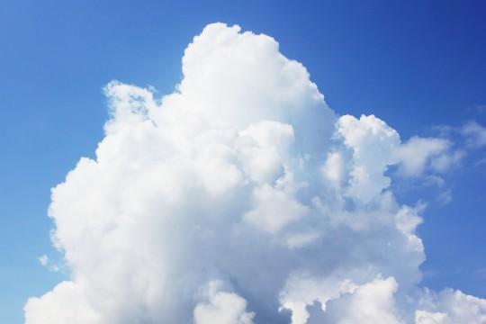 発達中の積乱雲