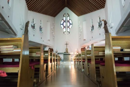 教会内部1