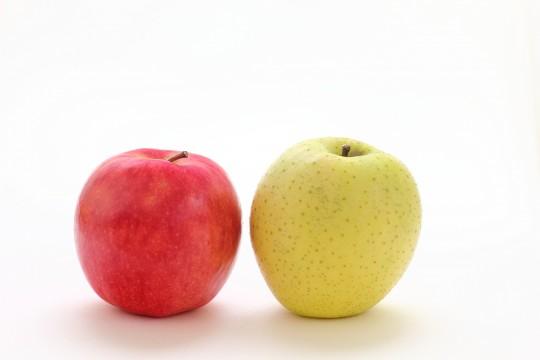 赤りんごと青りんご2