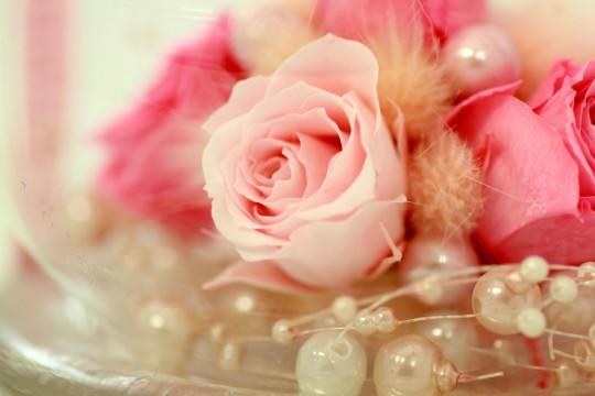 バラの飾り