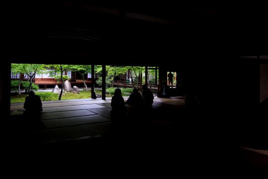 建仁寺の中庭