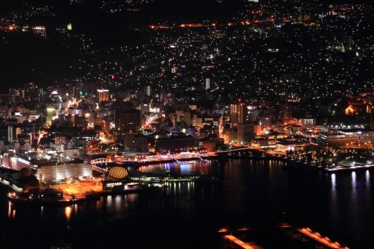 稲佐山からの夜景