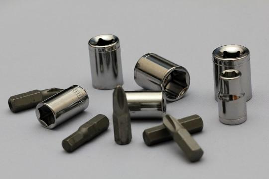 色々な工具のパーツ