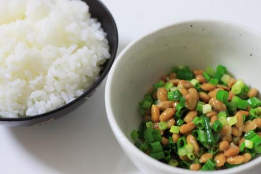 納豆とごはん