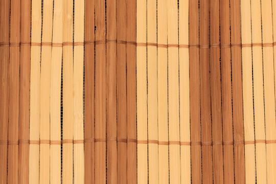 竹のランチョンマット